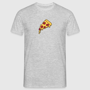 Delicious Salami Pizza Delicious Food Hunger Comic - T-shirt herr