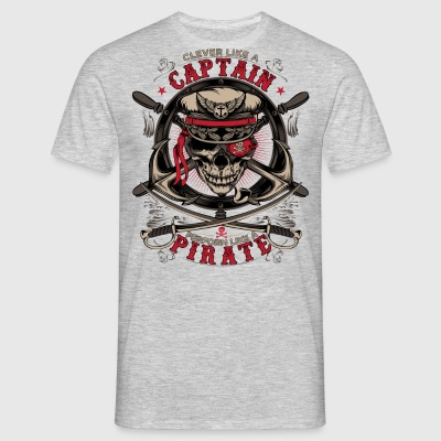 capitaine pirate - T-shirt Homme