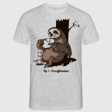 Procafeination - Men's T-Shirt
