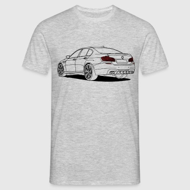 Sports Saloon Outlines - Men's T-Shirt