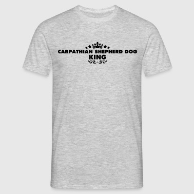 carpathian shepherd dog king 2015 - Men's T-Shirt
