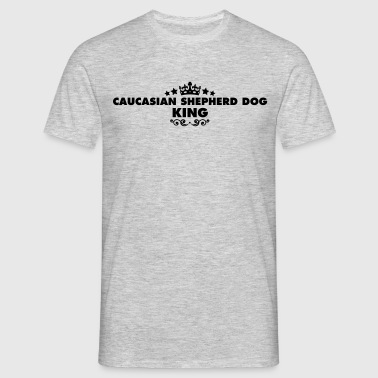 caucasian shepherd dog king 2015 - Men's T-Shirt