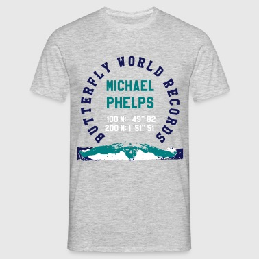BUTTERFLY WORLD RECORDS - Men's T-Shirt