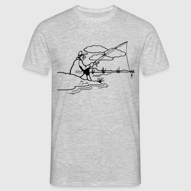 Fishing relax shore - Men's T-Shirt