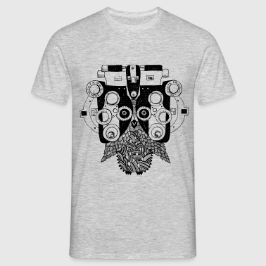 Phoropter owl - Men's T-Shirt