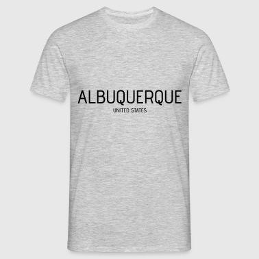 Albuquerque - T-skjorte for menn