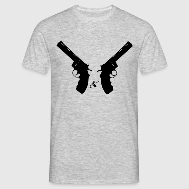 Two Revolvers - T-shirt Homme