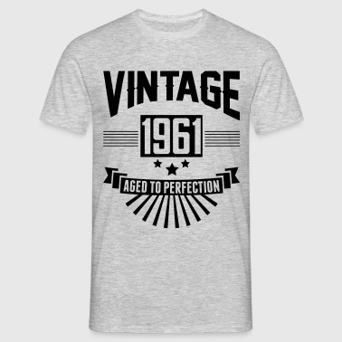 VINTAGE 1961 - Aged To Perfection  - Men's T-Shirt