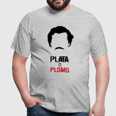 Pablo: plata or plomo - Men's T-Shirt