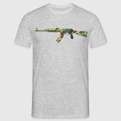 AK47 Camouflage - Herre-T-shirt