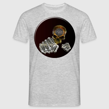 Skull Black Moon - Men's T-Shirt