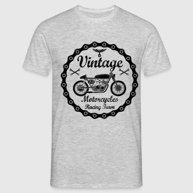 vintage motorcycles 04 - T-shirt Homme