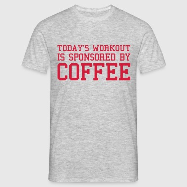 Today's Workout Gym Quote - T-shirt herr