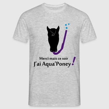 Aqua poney 3 - T-shirt Homme