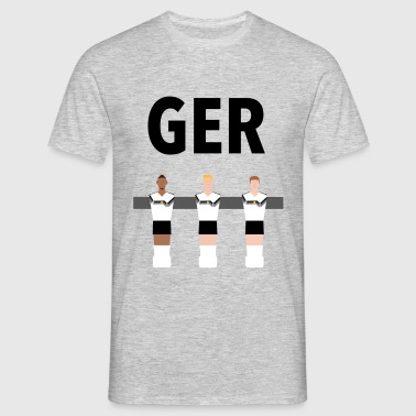 Kickerfiguren Germany  - Männer T-Shirt