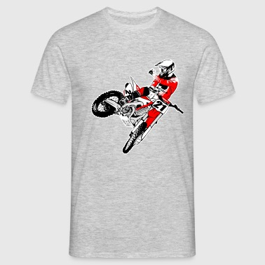 Moto Cross - MX - Supercross - Men's T-Shirt