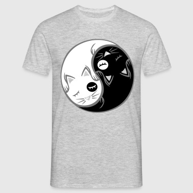 Chat yin yang flex - T-shirt Homme