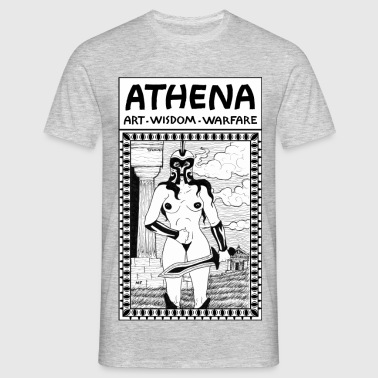 Athena. Art, Wisdom and Warfare - Men's T-Shirt