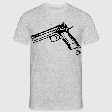 Pistol 9mm CZ - Men's T-Shirt