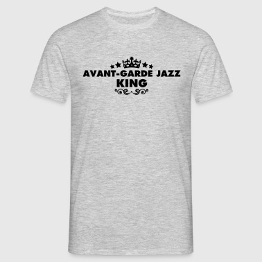 avantgarde jazz king 2015 - Men's T-Shirt