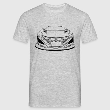 cool jdm car outlines - Men's T-Shirt