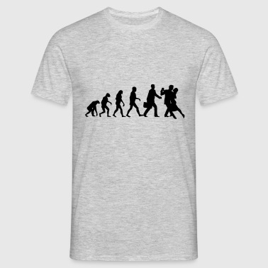 Evolution of Mens Tango - Men's T-Shirt