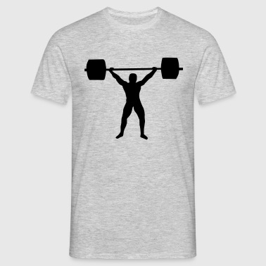 Weight lifting - T-shirt herr