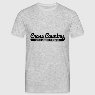 2541614 15376355 cross-country - T-shirt Homme