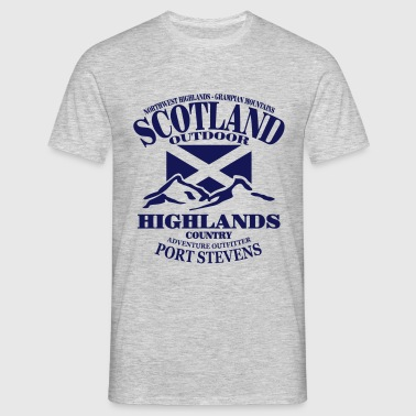 Scotland - Highlands - Mannen T-shirt