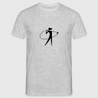Golfer design - Men's T-Shirt