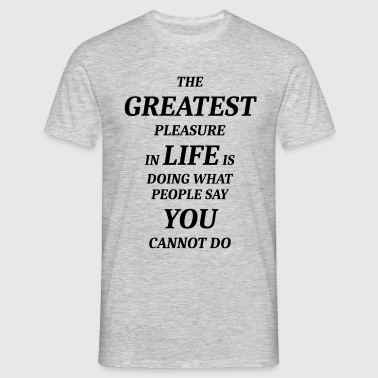 GREATEST - Men's T-Shirt