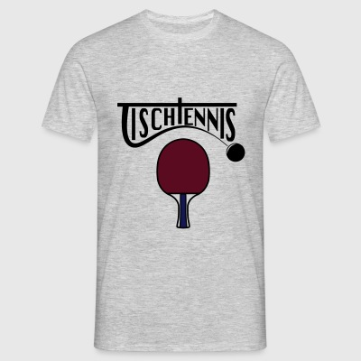 bordtennis - T-shirt herr