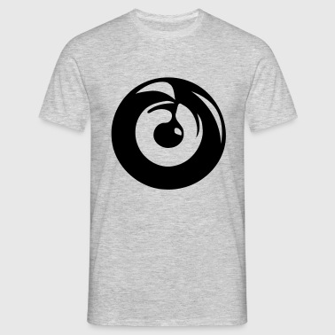 Muzieknoot Record - Mannen T-shirt