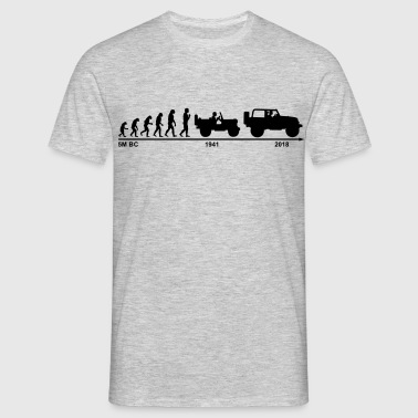 jeep evolution - Männer T-Shirt