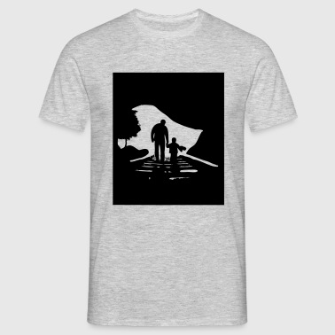 father-and-son - Männer T-Shirt