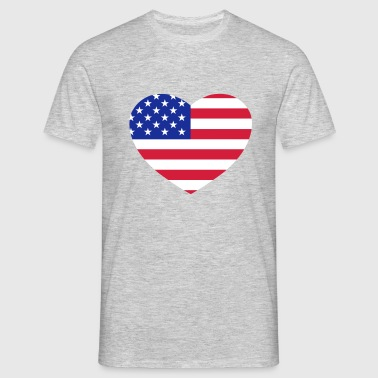 American heart - Men's T-Shirt