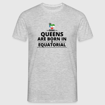 GIFT QUEENS LOVE FROM EQUATORIAL GUINEA - Men's T-Shirt