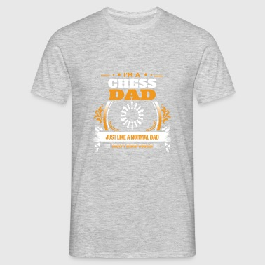 Chess Dad Shirt Gaveidee - Herre-T-shirt