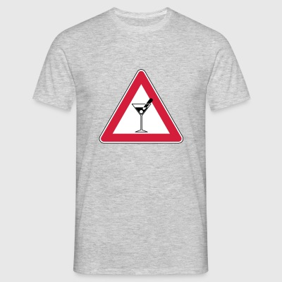 _ danger - T-shirt Homme
