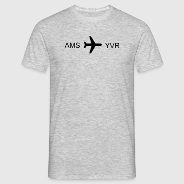 Flying to Vancouver! - Men's T-Shirt