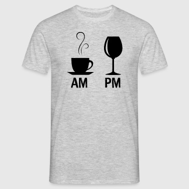 AM / PM - Men's T-Shirt