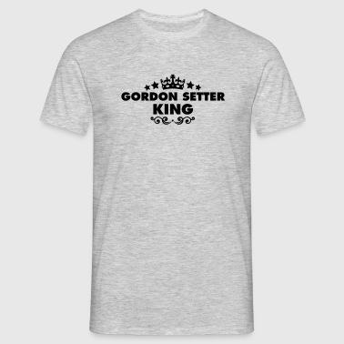 gordon setter king 2015 - Men's T-Shirt