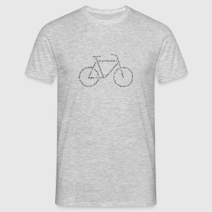Languages Bike - Männer T-Shirt