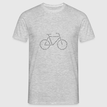 talen Bike - Mannen T-shirt