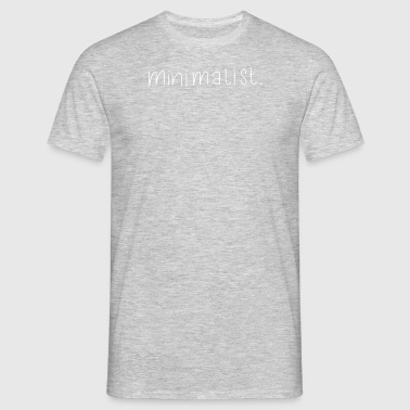 minimalist - Men's T-Shirt