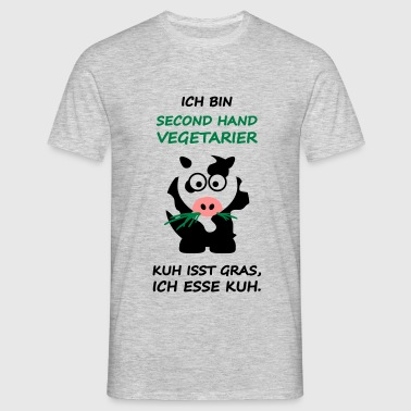 Second-Hand-Vegetarier - Männer T-Shirt