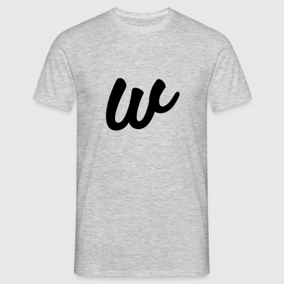 W from rage - Men's T-Shirt