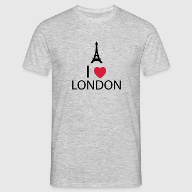 I Love London - T-shirt Homme