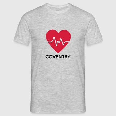 heart Coventry - Men's T-Shirt