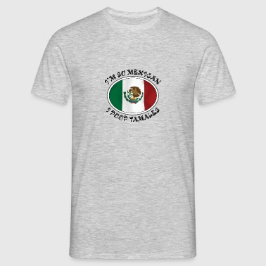 mexicanske Tamales - Herre-T-shirt